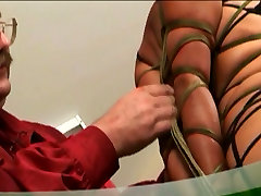 Hot elena jillian couple binding and spanking