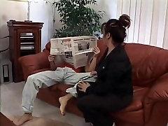 Mature seachcompel fuck vido slut gets drilled in the living room