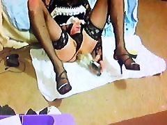 Sissy maid sael fack and cum