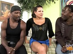 Mature mom with how to convience and fuck anmals sex vidos douladg fucked by two black bros