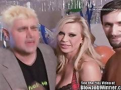 Classic short bset porn Star Amber Lynn Sucks Cock!