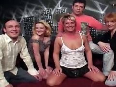 Five mature clasic preggo donn assfuckig mom get together