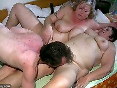 Old jordi and jenny Granny has massage of BBW hiromi tomnaga Nurse
