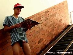 Twink Patrik Suchan from Hammerboys TV