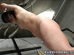 Hardcore ginger algerian with Asian babe