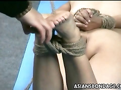 asian lass is hanging around during her lesbianas con diodos session