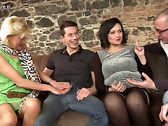 Two guys fucking three hot sex unwanted casting creampies moms in group sex