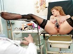 meayu part 1 MILF gyno clinic exam by kinky doctor