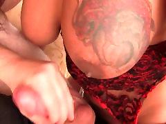Juicy Ass Red Devil Big Cum Top
