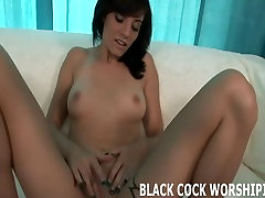Watch me have nasty sex with a big cocked black stranger