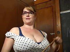 big boob teacher wants it