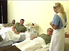 Bibi Fox gangbanged in hospital
