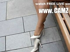 Feet in Nylon - Video 4 MILFs ' **** best ultimate maxium sexy