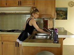 Kayla Marie petite maid loves bbc