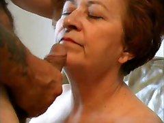 Susanne sucking cock