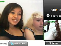 Stickam flash with 2 hotties