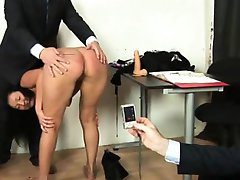 Dirty naked job interview