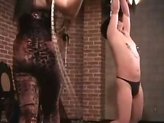 mistress welcomes her new slave