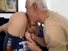 old and young fuck each other