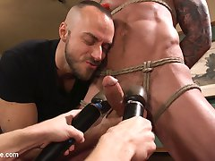 Its a dream come true for Dolf Dietrich Today, hell spend a session with Men on Edge. Sebastian...