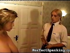 Her supervisor doesnt take this lightly. She has to tell the school Mistress.