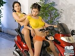 Perfect tits on Thai Norlina and Susan