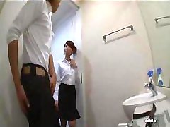 Young and beautiful Japanese nurse bangs with her patient