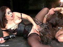 This is real lesbian BDSM sex, punishment, and orgasms like youve never seen before. Lea Lexis,...