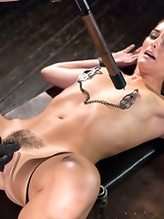 Bianca is a tall lean beauty who shows up nervous as hell. She is excited, but her fear is...