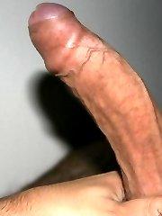 Naughty boyfriends show off their dicks