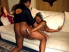 Made up black minx gets all the dick she can handle here