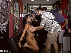 Julia de Lucia loves being fucked in the ass by strangers and dominated by Mona Wales. Mona...