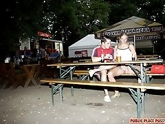 Young couple has public sex