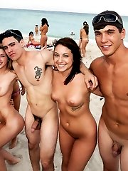 Real nudist beach hidden camera