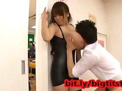 Hitomi Tanaka - Huge Natural Boobs Japanese Pornstar gets fucked hard