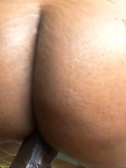 Ebony Babe Cherokee Gets Fucked By Lex's Monster Cock
