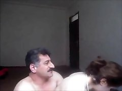 Arab or turkish guy fucked cute girl
