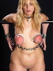 breast bondage globes torture