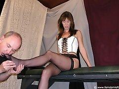 Boot torture for Joe