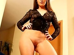 Charming babe loves nothing more than riding faces of her submissive slaves