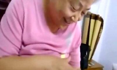 Секс Видео Худая Бабушка