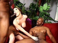 Black Cock Slut, Brooklyn Chase gets Hammered at Blacks On Blondes!