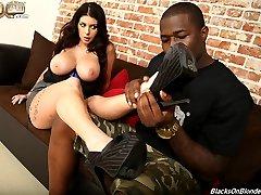 Black Cock Slut, Brook Ultra gets Hammered at Blacks On Blondes!