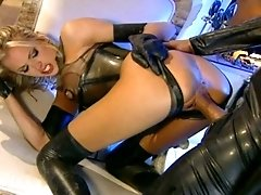 Submissive Latex Girl Fucked