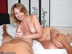 Mrs Summers Like Em Big - MILF and Mature Handjob Videos Over 40 Handjobs