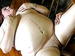 Fat mature slut sucking and fucking