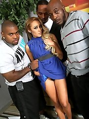 Tinslee Reagan Interracial Movies at Blacks On Blondes!