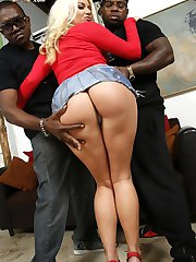 Layla Price Interracial Movies at Blacks On Blondes!
