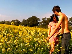 This brunette teen is sweet and innocent like the flowers in this field. However, has some hardcore desires that will soon be penetrating deep inside of her.