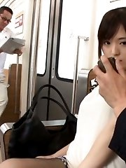 Yua Kuramochi Asian is undressed and has cans PublicSexJapan.com
